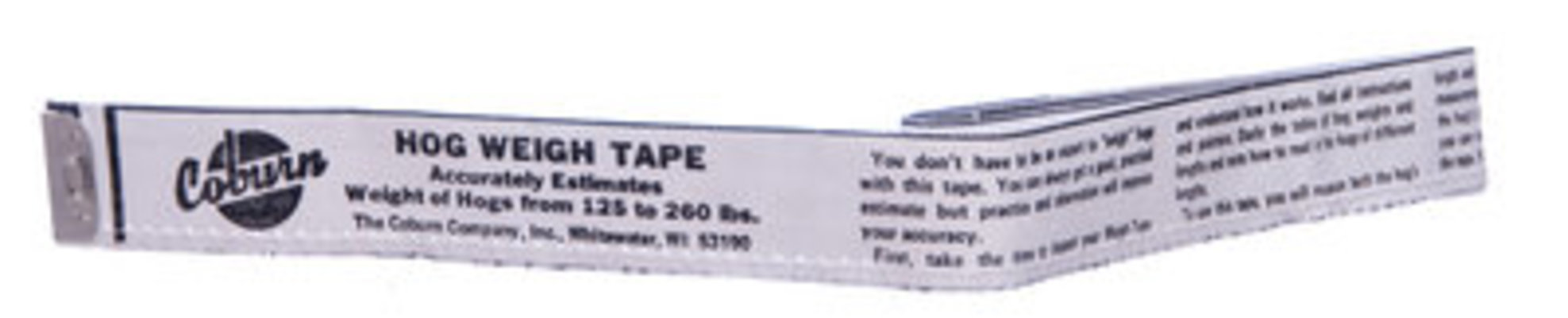 Hog Weigh Tape