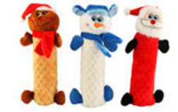 "Holiday 10"" Full Body Squeaker Toy"