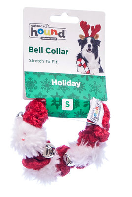 Small Holiday Bell Collar