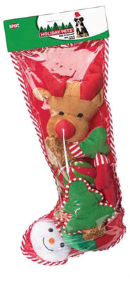 8-Piece Dog Christmas Stocking with Toys