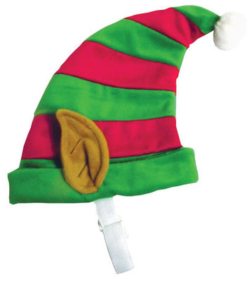 Holiday Striped Elf Hat