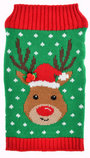 Holiday Reindeer Knit Sweater