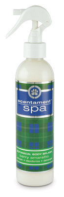 Scentament Spa Body Splash Spray, Berry Amaretto