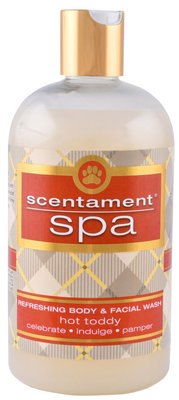 16 oz Hot Toddy Holiday Scentament Spa Face & Body Wash