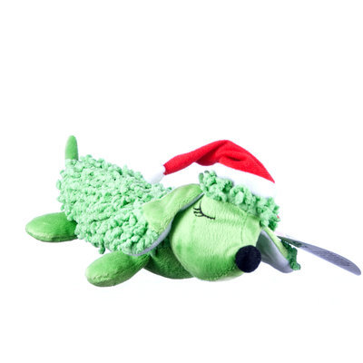 Green Holiday Scruffie Nubbie Hot Dog