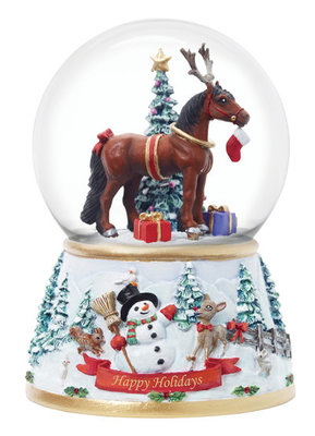 Holiday Surprise Musical Snow Globe