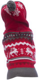 Hooded Holiday Sweater, Red