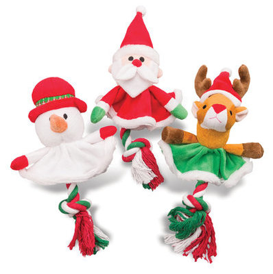 Christmas Tree Skirt Rope Toy, each