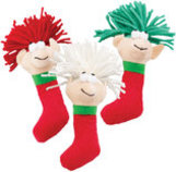 Holiday Wooly Elf Catnip Toy, 5.5""