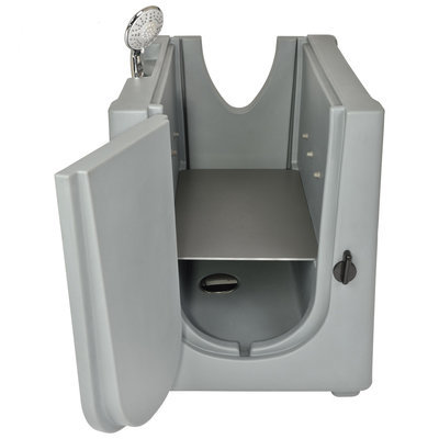 Home Pet Spa w/ Shelf & Wheels