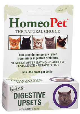 HomeoPet Digestive Upsets Feline, 15 mL