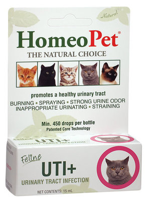 Homeopet Feline UTI+, 15 mL