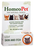 HomeoPet Feline Skin and Itch, 15 mL