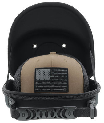 Hooey Cap Carrier, Black