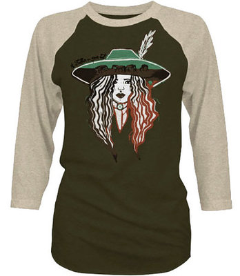 "Hooey ""Feather Hat"" Ladies Raglan Tee"