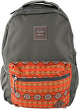 """Recess"" Charcoal and Aztec Hooey Backpack"