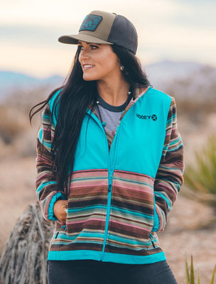 "Hooey ""Serape"" Ladies Tech Jacket"