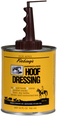 Fiebing's Hoof Dressing, 32 refill w/application brush