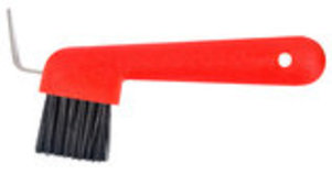Jeffers Hoof Pick & Brush