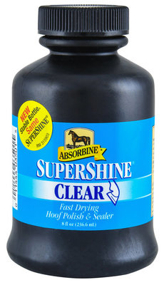 Clear SuperShine Hoof Polish, 8 oz