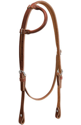 Horizons Rolled Sliding Ear Headstall