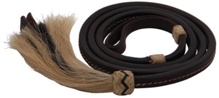 Horse Hair Over Under Whip, Dark Oil