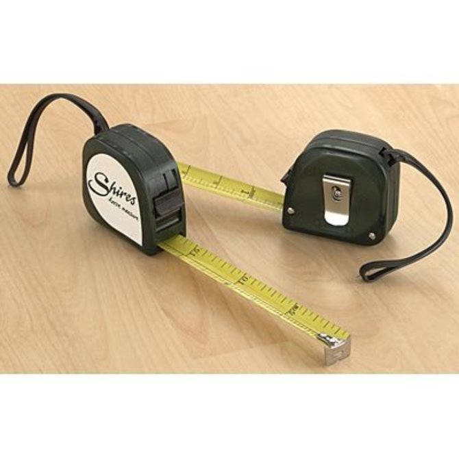 Shires Horse Measuring Tape Measures in Hands and Centimetres Pocket Size