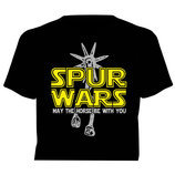 "Horses Unlimited ""Spur Wars"" T-Shirt, Black"