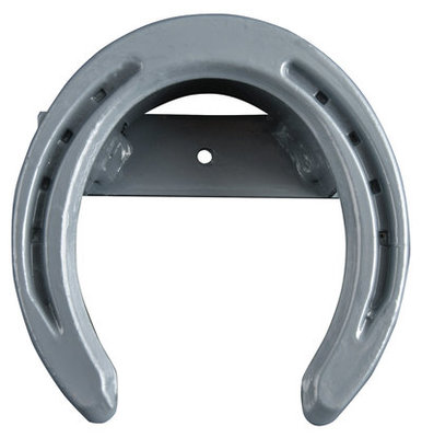 Horseshoe Bridle Rack, Steel Gray