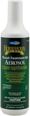 Horseshoer's Secret Thrush Aerosol, 7oz