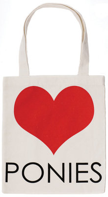 Horseware Ireland Heart Ponies Tote Bag