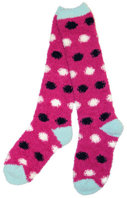 Pink Dot Softie Socks