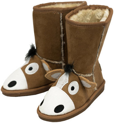 Kids Horsey Toasty Toez