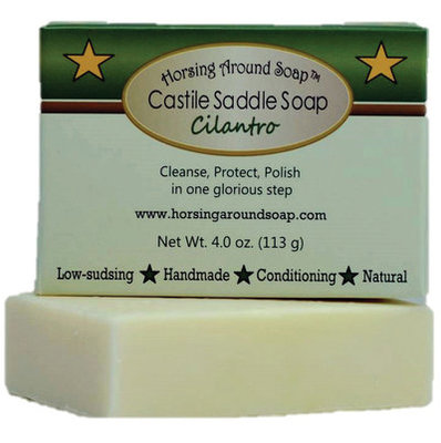 Cilantro Saddle Soap, 4 oz