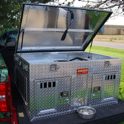 Hunter Series Dog Box with storage (model #55100)