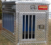 Hunter Series Dog Box with Top Storage (Single Compartment)