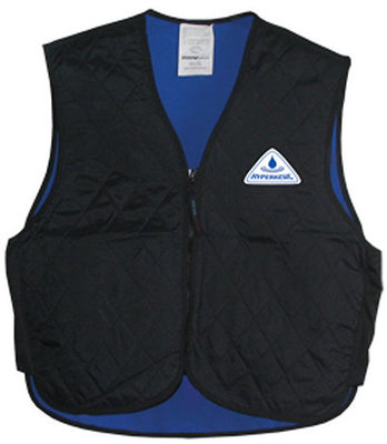 HyperKewl Evaporative Cooling Vest, Black