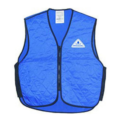 HyperKewl Evaporating Cooling Vest for Children, Blue