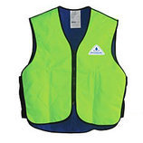 HyperKewl Evaporating Cooling Vest for Children, Hi-Viz Lime