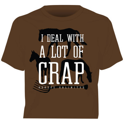"""I Deal..."" Short Sleeve T-Shirt"