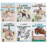 """I Love _____"" Equestrian Coloring Books, each"