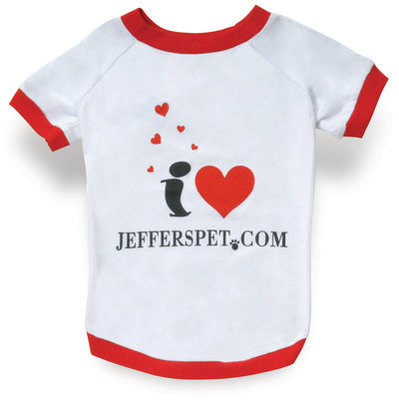 i ♥ JeffersPet.com Doggy T-Shirt