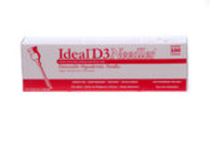 Ideal D3 Detectable Needles, Box of 100