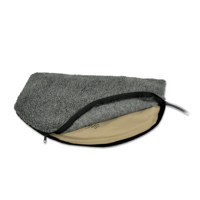 "Large Deluxe Igloo-Style Heated Pad Cover, 17.5"" x 30"""
