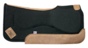 Impact Gel Contour Build Up Saddle Pad, Black