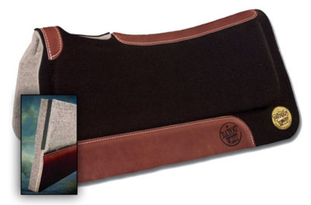 "In-Set Bayou West Saddle Pad, 31"" x 32"""