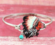 Indian Chief Bracelet