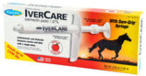 IverCare Paste Horse Dewormer, 1-dose