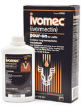 IVOMEC Pour-On Wormer for Cattle, 5L