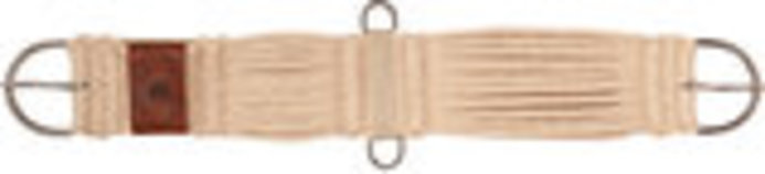 Jeffers 27-Strand Mohair Cinch, Tan
